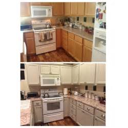 Ugly Kitchen Makeover - finally finished my kitchen makeover bye bye ugly honey oak used benjamin moore advance