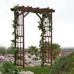 Decorating A Trellis For A Wedding Wedding Arbor With Grapevine Ceremony Decorations