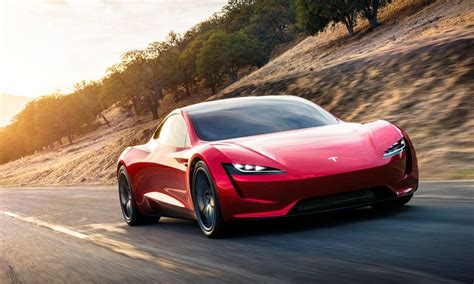 pictures of the tesla car tesla s new roadster set to be the world s fastest