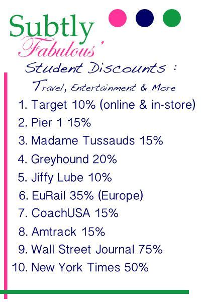 17 best ideas about student discounts on college discounts college hacks and