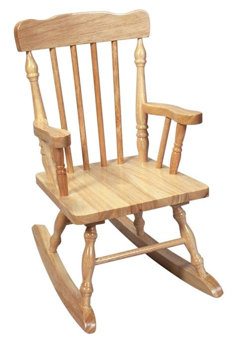 carved child s wood rocking chair in white walmart