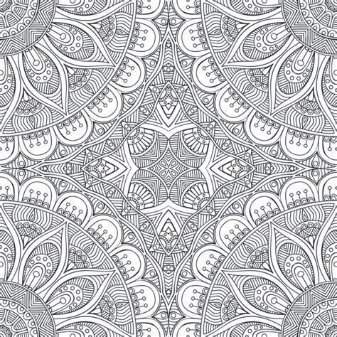 design pic retro mandala background design vector free download
