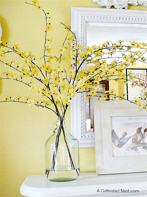 yellow decor decorating with glass bottles juice bottles wine bottle