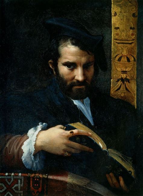 libro the man with the 1530 parmigianino ritratto di uomo con libro portrait of a man with a book renaissance