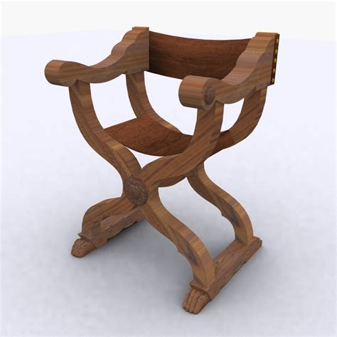 Curule Chair by Curule Chair Century 15th 3d Max