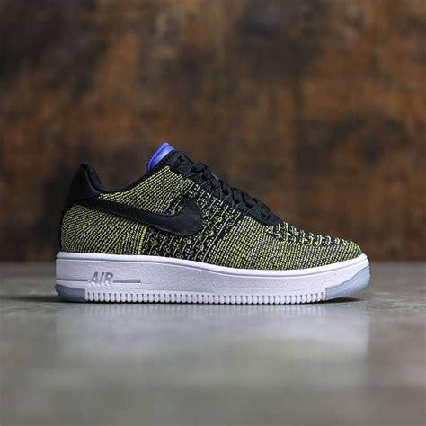 Nike Flayknit Black Blue nike air 1 flyknit low black black blue