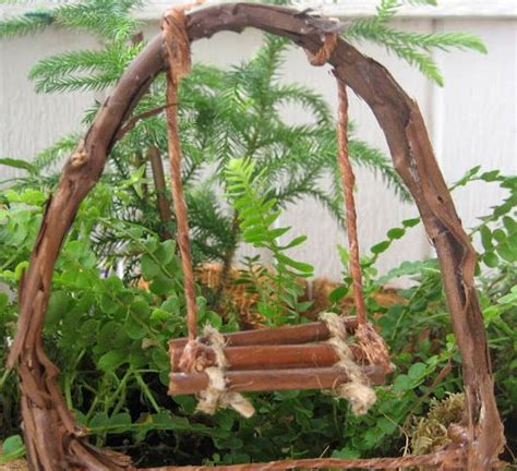 Handmade Garden - my handmade garden twig swing landscaping class
