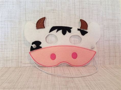 fil a cow mask template cow mask cow mask cow and masks