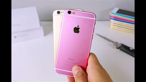 iphone  clone unboxing rose gold color youtube
