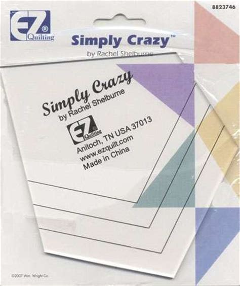 quilt ez arm templates ez quilting simply template design toolsnotions