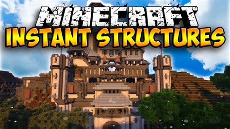 minecraft instant house mod instant structures mod 1 13 1 12 2 1 12 minecraft mods