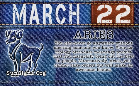 born lucky definition march 22 birthday horoscope personality sun signs