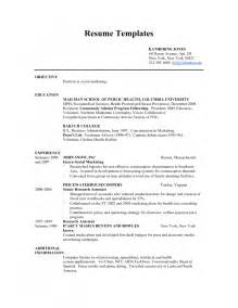 resume exles for student resume template