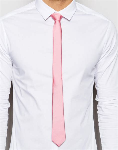 pink tie white shirt artee shirt