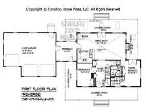 Attractive Reverse 1.5 Story House Plans #5: Sm1568gar-reverse-1st-floorplan.jpg