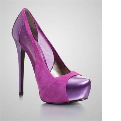 purple suede high heels guess purple suede high heels