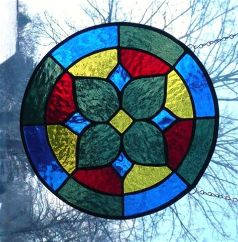Stained Glass For Beginners by Beginners Stained Glass Patterns Beginner Knitters Pattern