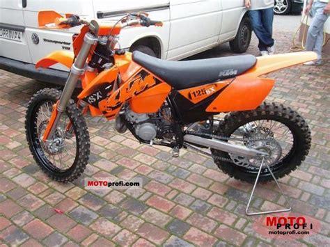 2003 Ktm 125 Sx Horsepower Ktm 125 Sx 2004 Specs And Photos