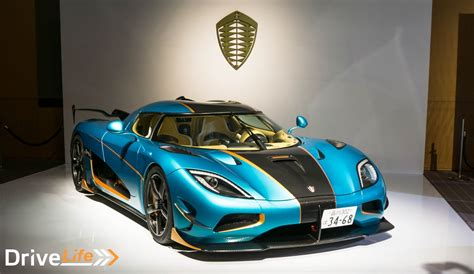blue koenigsegg agera r world premiere of the japan exclusive koenigsegg agera rsr