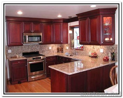 cabinets colors kitchen paint colors  cherry
