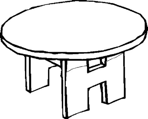 table coloring pages table 46 free printable furniture coloring pages