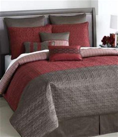 bryan keith bedding bryan keith bedding gramercy 9 piece burgundy brown queen comforter b swanky demo 2