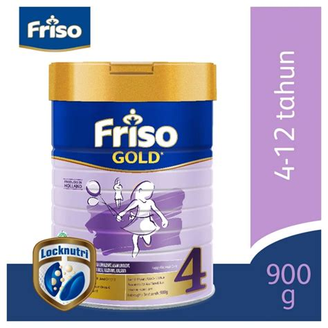 Friso Gold 3 900 Gr By Anakpedia friso 4 gold 900gr tin