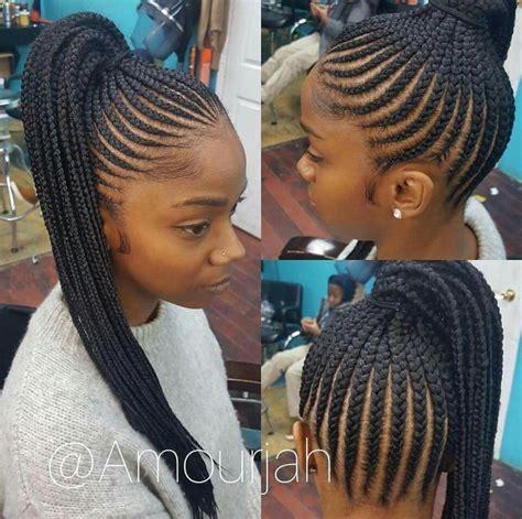 madame noire front side cornrow hairstyles 201 pingl 233 par kirby johnson sur hair idea pinterest