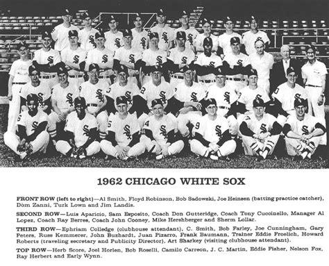 thedeadballera 1962 chicago white sox team photo
