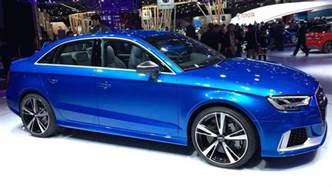 Audi Rs3 Sedan 2017 Rs3 Sedan Launches Audi Sport Brand In Car