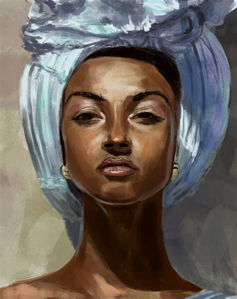 black woman portrait by florin chis on deviantart 4428 best images about my black art is beautiful on pinterest