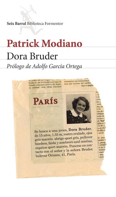 libro dora bruder folio gallimard la novela dora bruder del nobel patrick modiano la