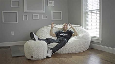 lovesac supersac review lovesac all about sacs youtube