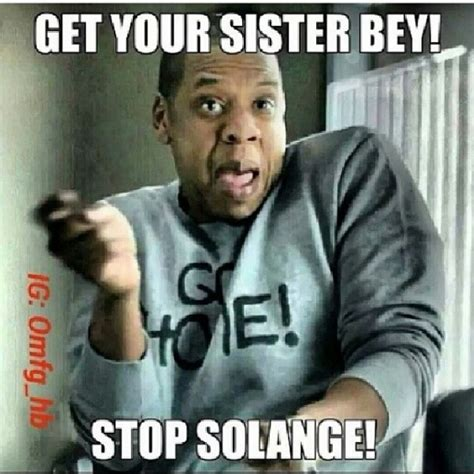 Meme Jay Z - solange doesn t talk about the elevator incident don t