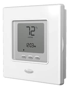 Carrier Infinity Thermostat Setup Carrier Controls And Thermostats