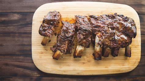 Rack Of Ribs Recipe by Maple Glazed Rack Of Ribs Recipe The Nosher