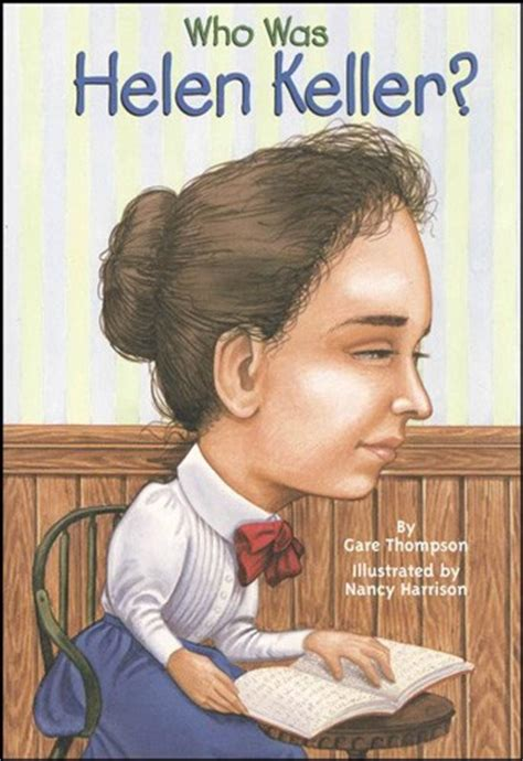 Who Was Helen Keller A Mighty Girl Helen Keller Coloring Page For