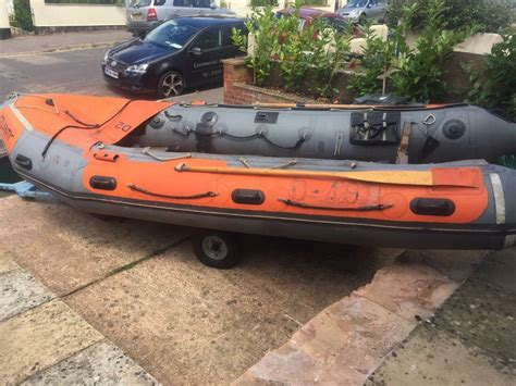 inflatable boats devon avon 5m inflatable boat rnli in exmouth devon gumtree