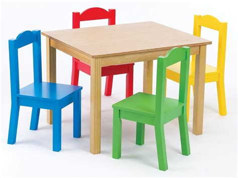 Child Table And Chairs by Tot Tutors Table Chairs Set Pastel Wood Toddler