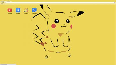 chrome theme pikachu pikachu chrome themes themebeta