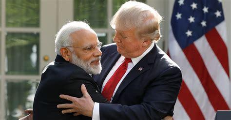 trump reportedly  accent  imitate indian prime minister narendra modi huffpost