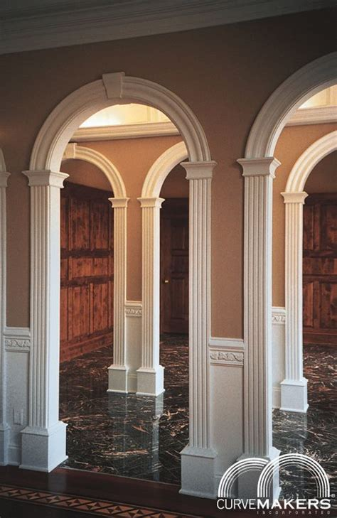 Wooden Arches Interior model j solid wood arch kit curvemakers inc