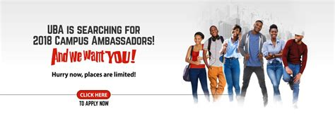 Uba Mba by Uba Cus Ambassador Programme 2018 For Students Of