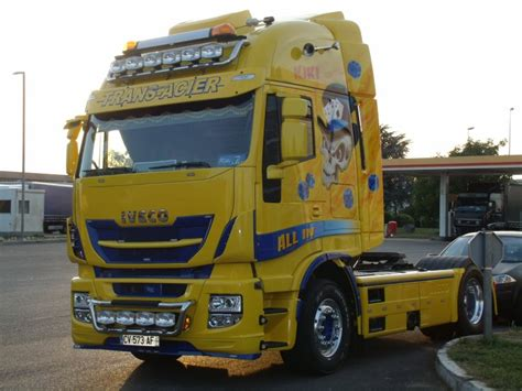 Here Is One Way To Haul In 40 Million A Year by Iveco Stralis Hi Way Transport Trans Acier De Unimog888