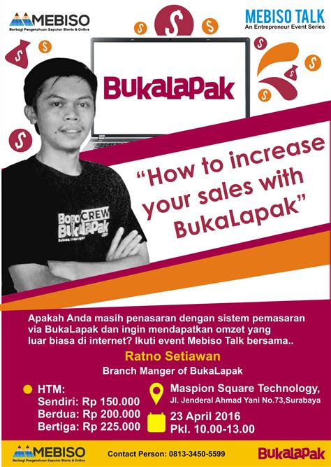 bukalapak event event how to increase your sales with bukalapak blog