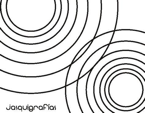 imagenes de mandalas con circulos dibujo de c 237 rculos juntos para colorear dibujos net