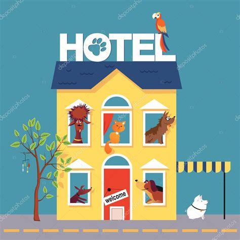 hotel clipart h 244 tel de pet de dessin anim 233 image vectorielle 105635622
