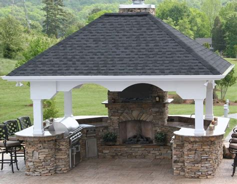 outdoor kitchen and fireplace outdoor kitchen and fireplace kitchen decor design ideas
