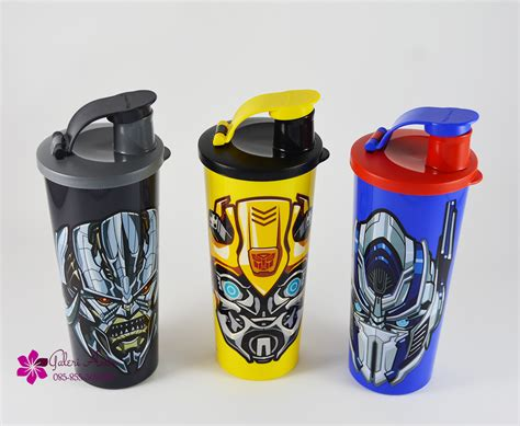 Tupperware Botol Karakter transformer tumbler tupperware 1pcs botol minum tupperware