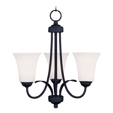 Black Mini Chandelier Livex Lighting Ridgedale Black Mini Chandelier 6473 04 Destination Lighting